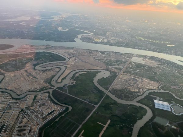aqua city chụp từ trên cao