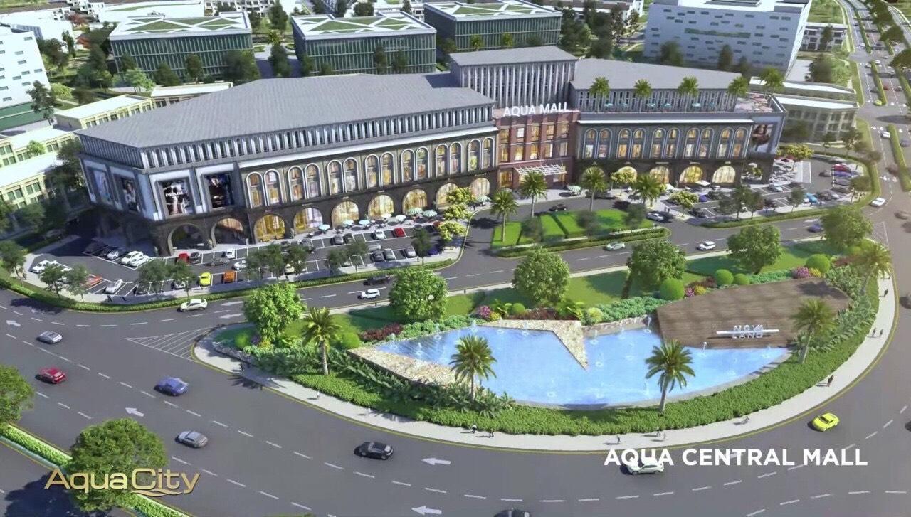 trung tâm thương mại aqua city