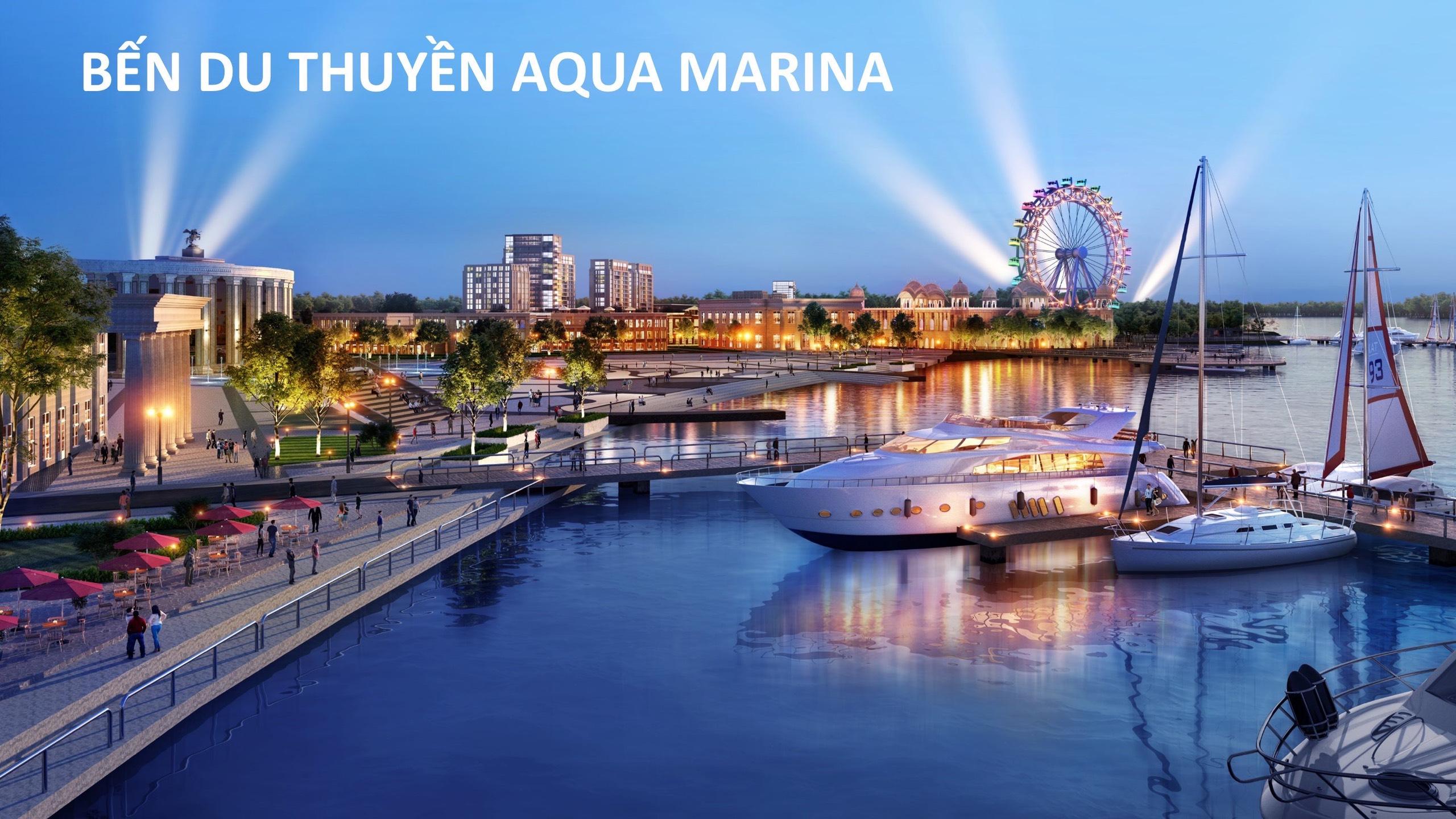bến du thuyền aqua city