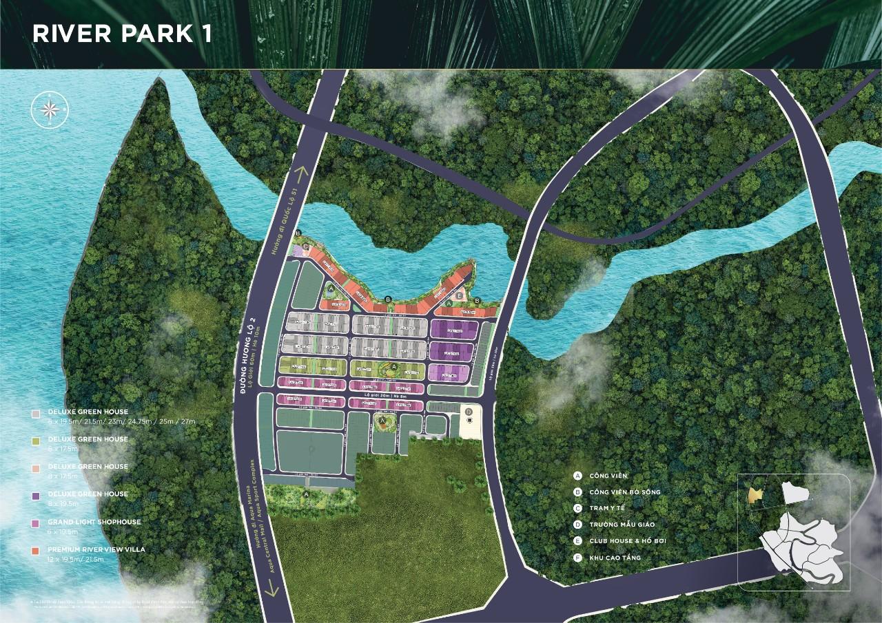 mặt bằng reverpark 1 aqua city