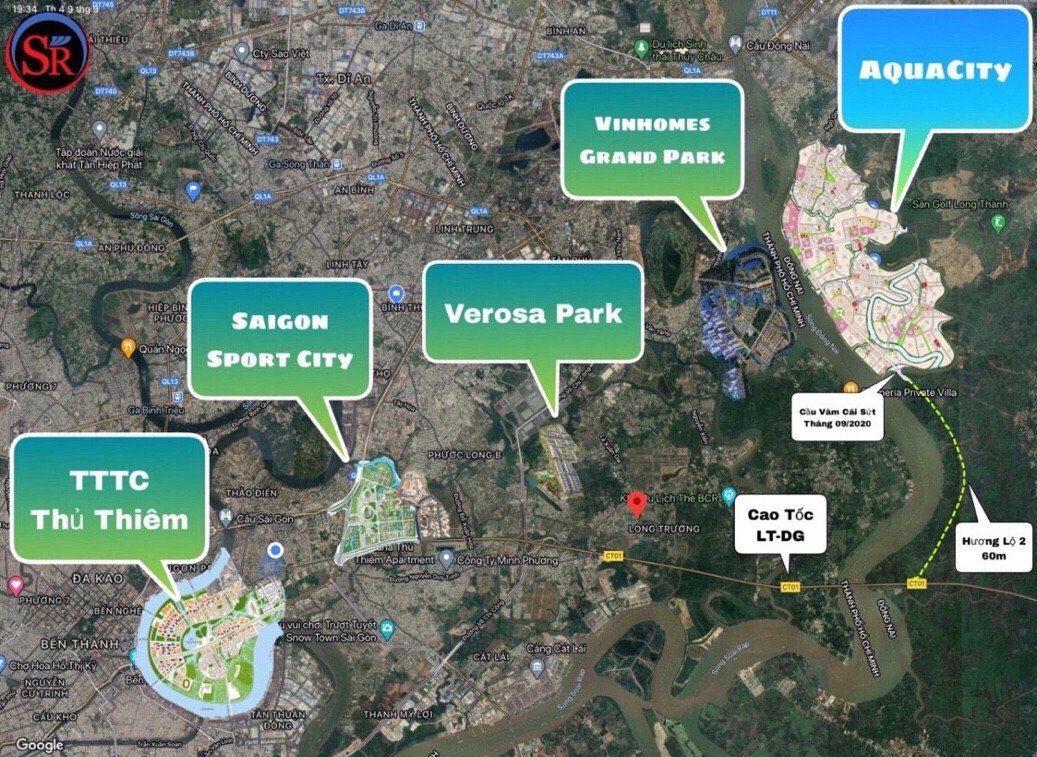 các khu đô thị lơn ở thành phố hồ chí minh