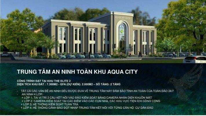 trung tâm an ninh aqua city