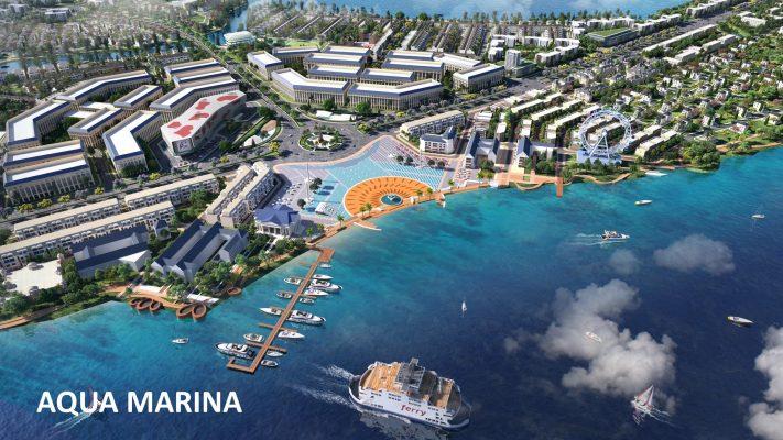 Bến du thuyền Aqua City Marina