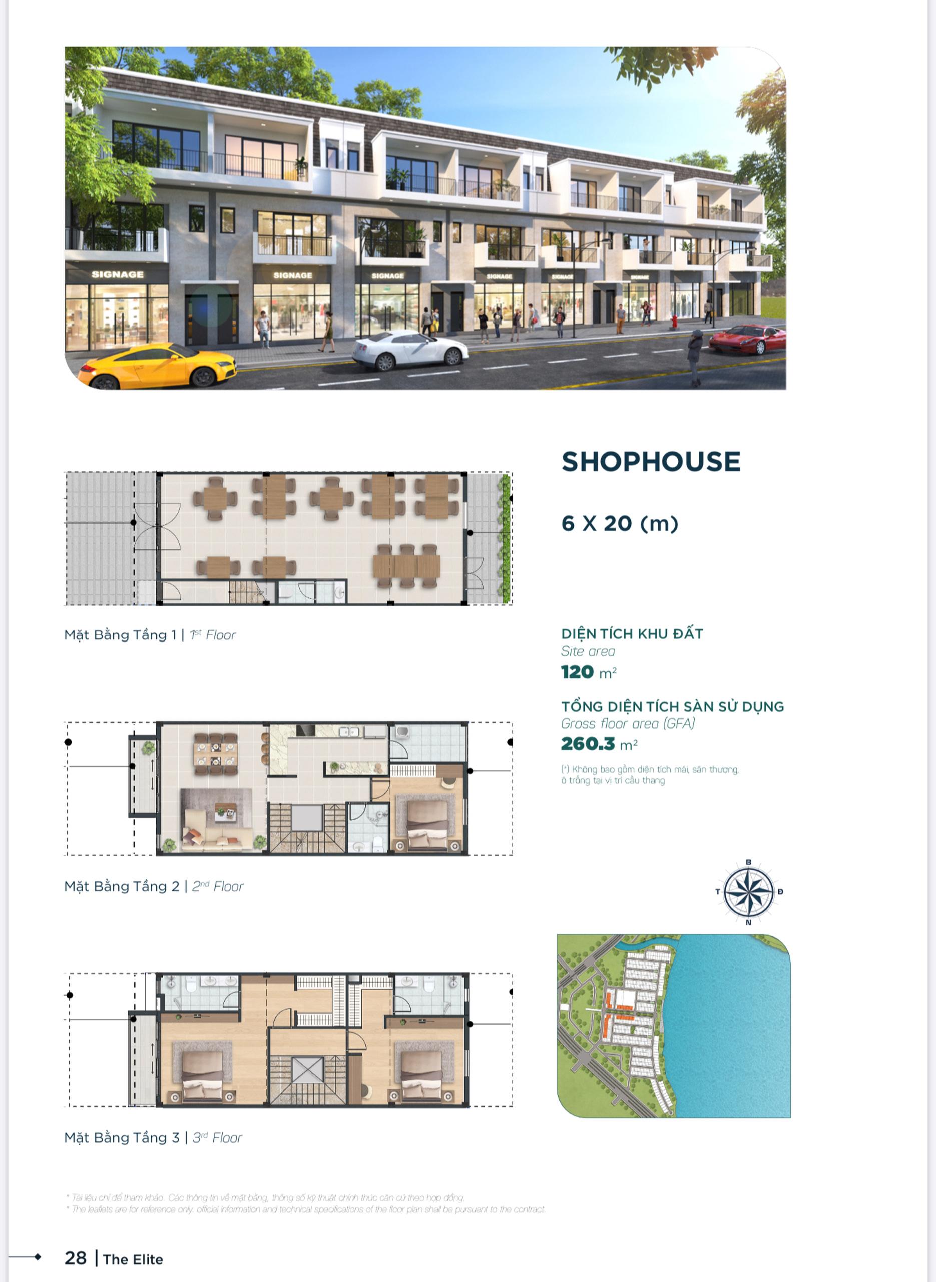 shophouse aqua city 6x20