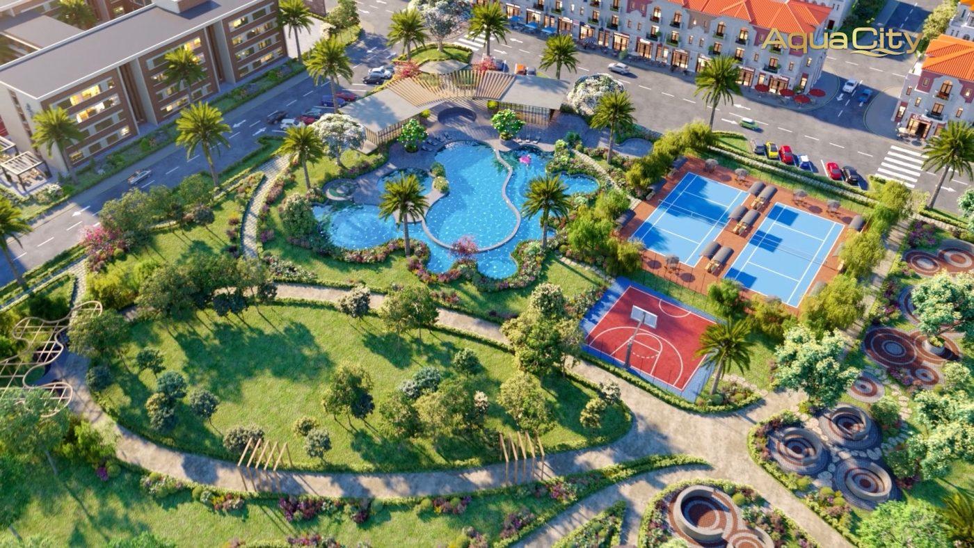 khu hồ bơi và công viên Valencia - Aqua City