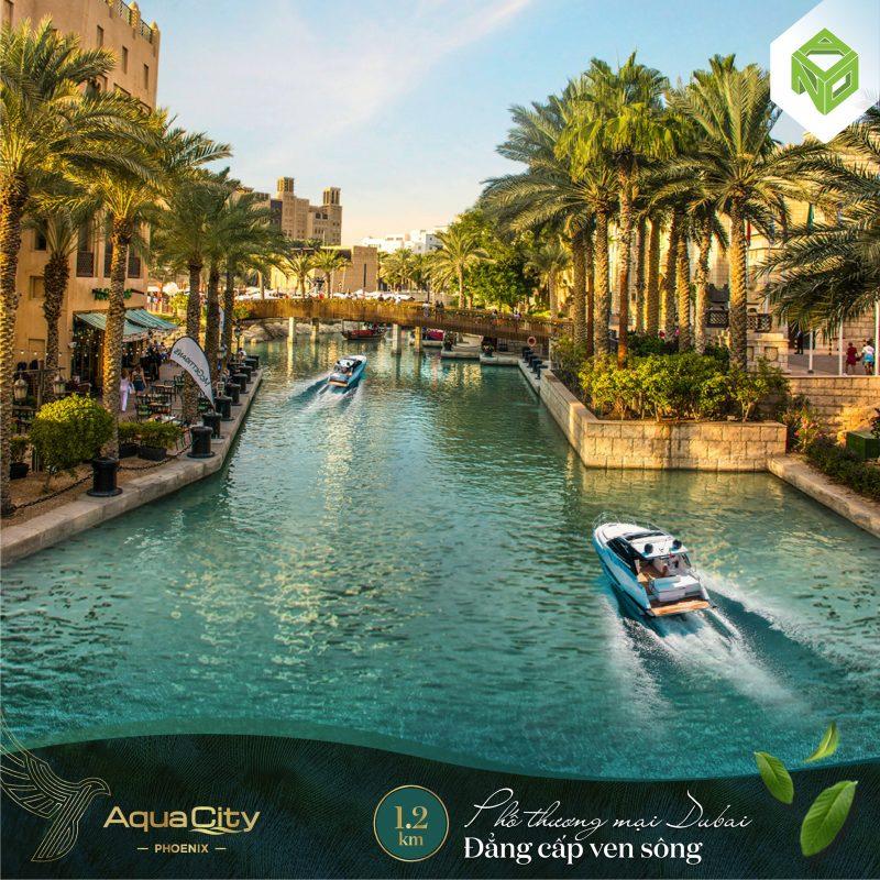 tiện ích đảo phượng hoàng aqua city