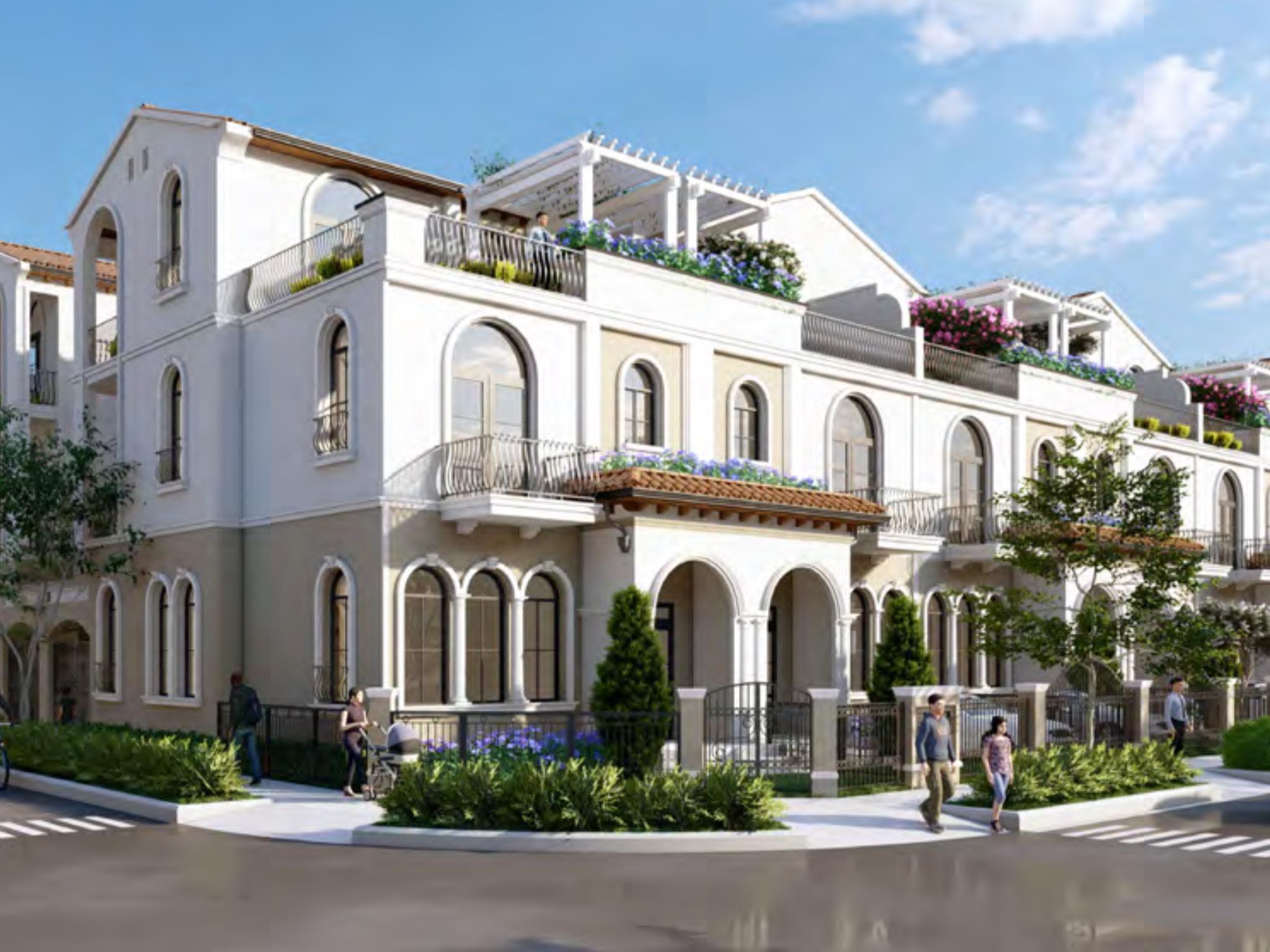 nhà phố valencia