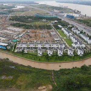 Biệt thự khu the suite Aqua City
